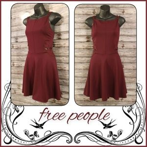 Fit & Flare Cutout Midi Dress by Free People